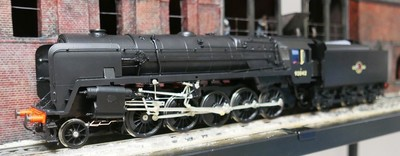 1/32nd Scale black 9F