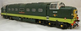 Buy Online - DJB brass Deltic BR 2 tone green D9000 Royal Scots Grey now reduced