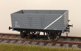 Buy Online - RCH 7 panel  wagon LMS grey available to order box of 4 only