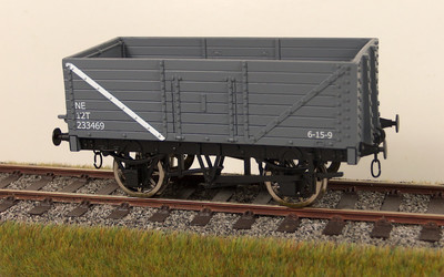 RCH 7 panel wagon LNER grey available to order box of 4 only