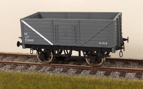 Buy Online - RCH 7 panel wagon LNER grey available to order box of 4 only