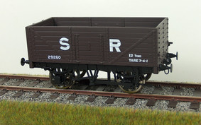 Buy Online - RCH 7 panel wagon SR brown available to order box of 4 only