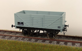 Buy Online - RCH 7 plank wagon - BR  grey available to order box of 4 only