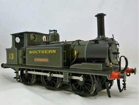 Buy Online - Southern livery IOW Terrier 13 Carrisbrooke sold another in workshop